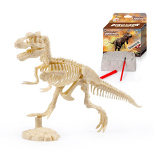 Jurassic Dinosaur Fossil excavation kits Education archeology Exquisite Toy Set Action Children Figure Gift Baby