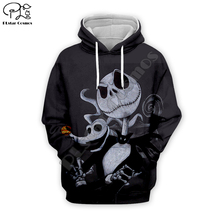 Pumpkin King Sally Jack Skelling print Men 3d Hoodies skull Halloween women Sweatshirt tshirt pullover Christmas Corpse Bride 02 майка print bar jack skull