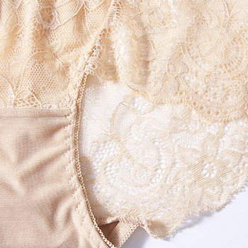 3pcs/lot Sexy Lace Panties For Women Seamless Lingerie High-rise String Briefs Transparent Underpants Female Underwear #F 5