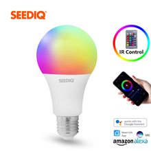 Led Bulb E27 Dimmable RGB Smart Bulb 10W 15W AC 220V 110V Smart Light Bulb Wifi Magic Lamp RGBW RGBWW with IR Remote Control
