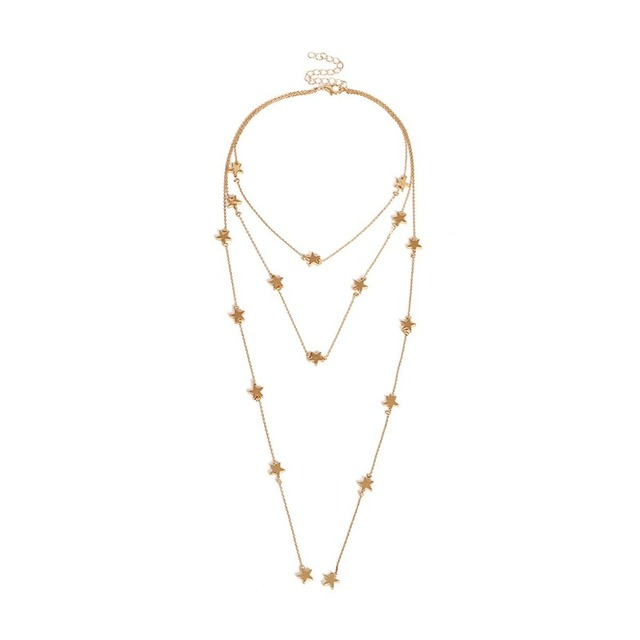 Multilayer Gold/silver Long...