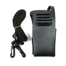 Rádio nova Capa Protetora de Couro Genuíno Bolsa De Ombro Duro Caso Coldre Para Motorola XIR P8200 P8208 P6500 P6200 GP328D