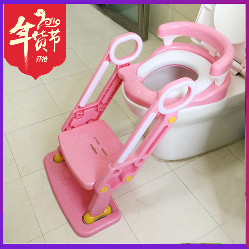 Extra-large No. Toilet For Kids Toilet Ladder Men And Women Baby Kids Chamber Pot Toilet Rack Build A Washer Staircase Style Wil