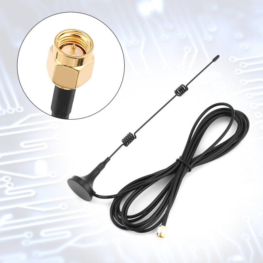 SMA-Männlich 2,4 GHz 3DBI 100 MHz Drahtlose Wifi WLAN 5 X Bereich Booster Antenne Extender + Basis Anschlüsse & Terminals RF dropshipping
