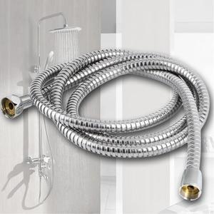 150 / 200 / 300 Cm Stainless Steel Shower Hose Encryption Explosion-proof Hose Spring Tube Shower Bracket Bathroom Accessories
