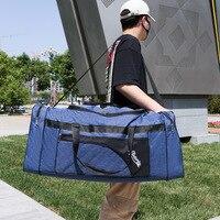 Unisex Große Kapazität Tragbare Reise Taschen Faltbare Gepäck Tasche Wasserdicht Oxford Handtasche Outdoor Freizeit Schulter Taschen XA270F