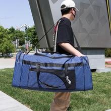 Unisex Large Capacity Portable Travel Bags Foldable Luggage Bag Waterproof Oxford Handbag Outdoor Leisure Shoulder Bags  XA270F