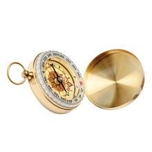 Карманные часы флип компас Портативный Пеший Туризм навигации