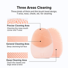 Xiaomi Mini Electric Facial Cleansing Massage Brush Silicone Sonic Face Deep Cleanser
