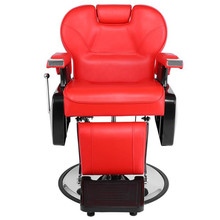 Professional Salon Barber Chair 8702A Red