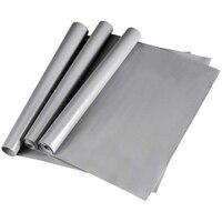 3 rolos de 45x150 cm esteiras de geladeira  forro de prateleira impermeável antiderrapante  almofada de geladeira de prateleira de armário de eva diy|Gabinete do amortecedor| |  -