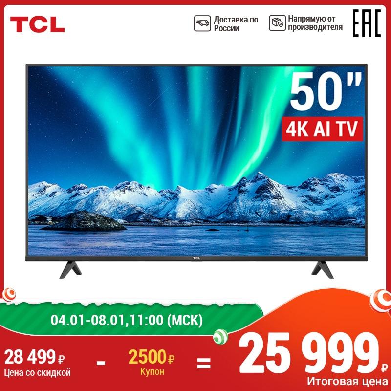 TCL Android P телевизор 50inch Smart TV UHD 50P615 Television 4K  телевизоры 50 дюймов 4К