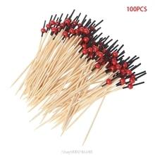 Food-Sticks Bamboo Club Beads Party Disposable D04 20-Dropship 100pcs
