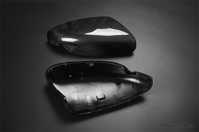Real Crabon Fiber Mirror Cover Exchange original 1 pair for  KIA K3 without lamp  2014-2017 T251M 4