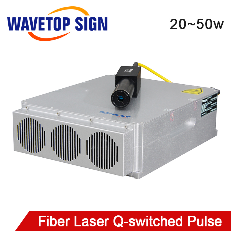 Raycus 20W-50W Q-switched Pulse Fiber Laser Source Series GQM 1064nm High Quality Laser Marking Machine DIY PART