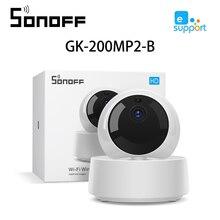 SONOFF GK 200MP2 B สมาร์ทมินิ WIFI กล้อง 1080P HD IP กล้อง 360 IR Night Vision Baby Monitor การเฝ้าระวังกล้อง