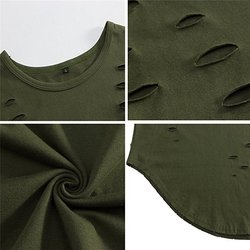 2020 Summer new style men solid color Cotton T-shirt green An