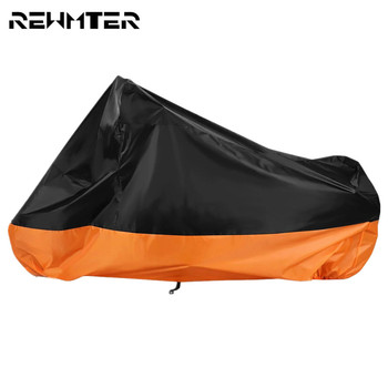 Motorcycle Cover Outdoor Uv Protector Scooter Rain Cover Motors  Rain Dust M L XL XXL XXXL For Harley Touring Sportster Dyna