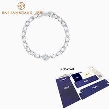 Женский браслет цепочка swa очаровательный изысканный с элементами