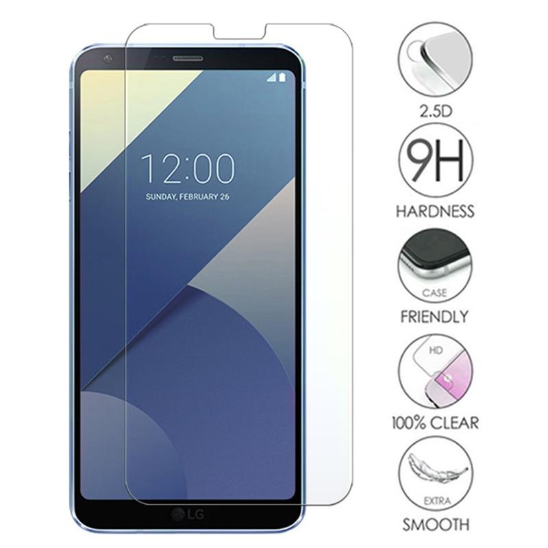 Tempered Glass For For LG G8X G8S G8 ThinQ G7 Fit G6 9H HD Film Screen Protector For LG V50S V50 V40 V30 Plus V20 V10