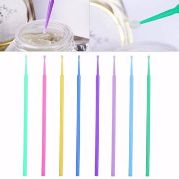 Multi-functon Disposable Eyelash Extension Remover Tooth Applicators 8 Style Choose 100pcs Microbrush Cotton Swabs Makeup Tools 1