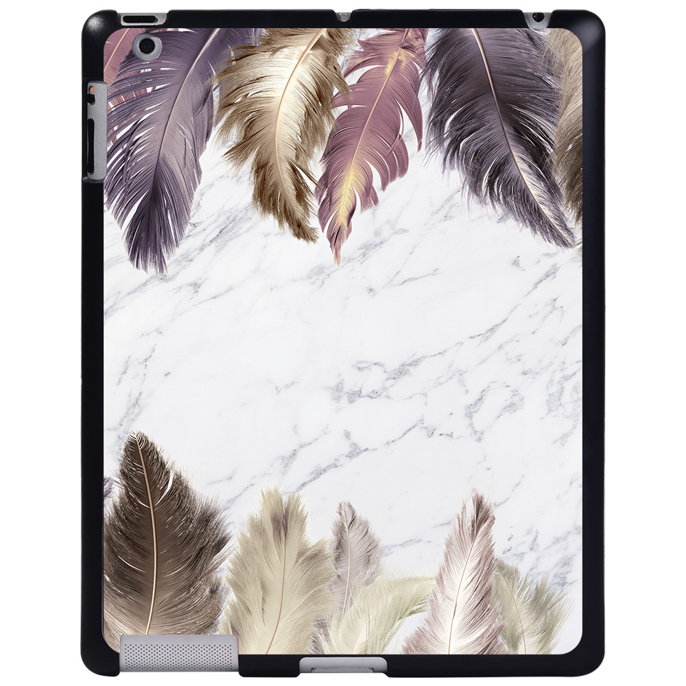 cream touch feather Black For Apple iPad 8 10 2 2020 8th 8 Generation A2428 A2429 tablet PC Plastic Printed