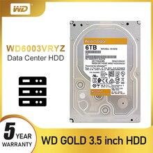 "WD 웨스턴 디지털 새로운 골드 2 테라바이트 4 테라바이트 6 테라바이트 8 테라바이트 10 테라바이트 14 테라바이트 Hdd Sata 3.5 ""내부 하드 디스크 하드 Disque 데스크탑"