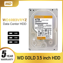 WD Western Digital Disque Dur interne Hdd de 3.5 pouces, Sata, nouveau Disque Dur de 2 to, 4 to, 6 to, 8 to, 10 to, 14 to, pour bureau