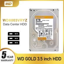WD Western Digital NEW Gold, внутренний жесткий диск 4 ТБ, 6 ТБ, 8 ТБ, 10 ТБ, 14 ТБ, Hdd Sata 3,5 дюйма, жесткий диск для настольных ПК