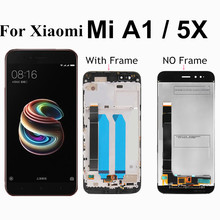 For Xiaomi Mi A1 LCD Display+Touch Screen Mi5X LCD Digitizer Premium Replacement for Xiaomi Mi 5X MiA1 Mi A1 4GB 32GB 64GB 5.5 for xiaomi mi a1 lcd display mia1 mi5x mi 5x touch screen digitizer with frame replacement parts for xiaomi mi a1 lcd 5x display