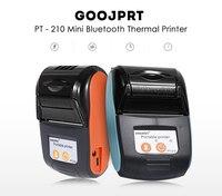 Goojprt PT-210 ワイヤレスミニ 58 ミリメートルポータブルプリンターサーマルレシートプリンタ携帯電話androidのiosのwindowsポケット法案