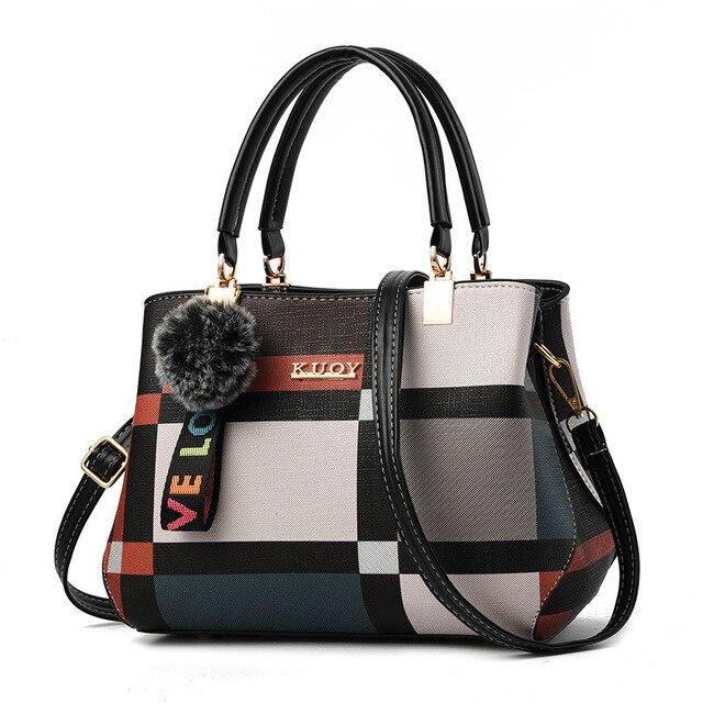 2020 المرأة حقيبة بولي Leather حقيبة يد جلدية للإناث الإناث الفاخرة حقيبة ساعي الكتف سيدة مصمم كيس حقيبة كروسبودي الرئيسية