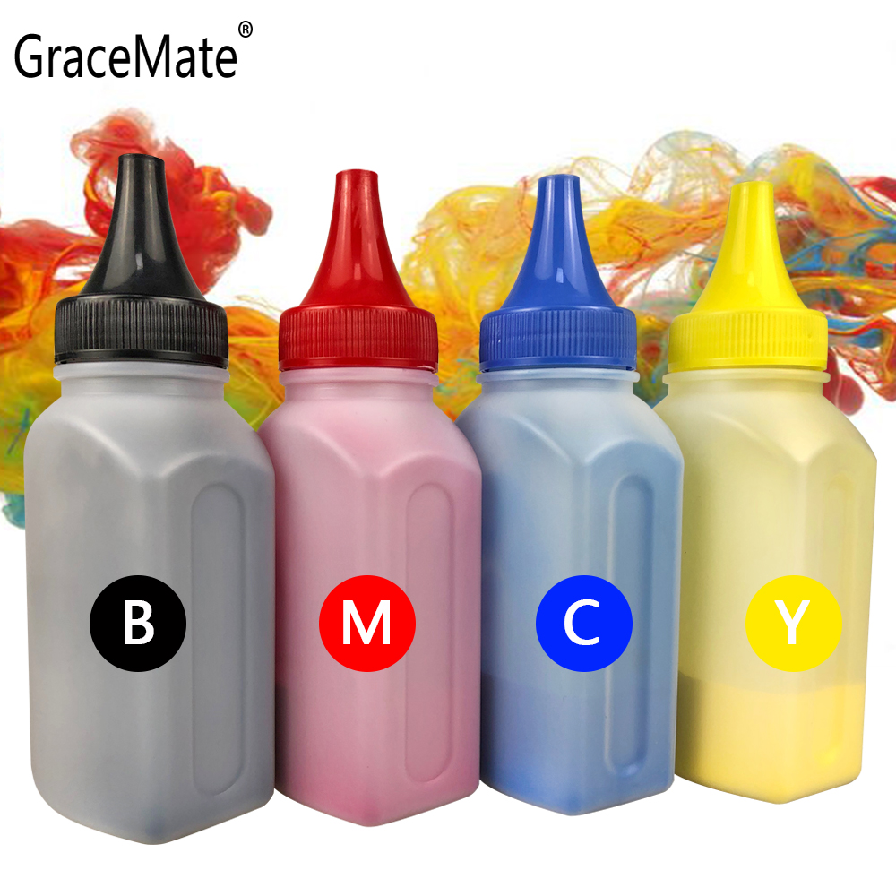GraceMate <font><b>Toner</b></font> Powder 201A CF400A CF401A CF402A CF403A Compatible For <font><b>HP</b></font> LaserJet M252n M252d M277c6 M277n <font><b>M277dw</b></font> <font><b>Printer</b></font> Clip image