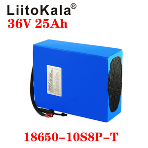 Image 3 - LiitoKala 36V 25ah 18650 10S8P אופניים חשמליים סוללה 36V 25AH 1000W ליתיום סוללה מובנה 20A BMS חשמלי אופני מנוע