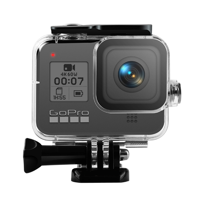 Водонепроницаемый чехол для камеры Go Pro Hero 8, 45 м, 2019