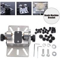 Punch Bracket Craft Durable Drill Hole Lathe Rotary Tool Multifunctional Beads Machine Mini Silver Polisher Aluminum Alloy DIY