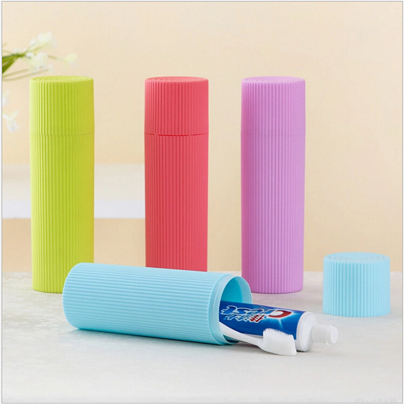 Portable Toothbrush Storage Box Travel Camping Toothpaste Holder Protector Case