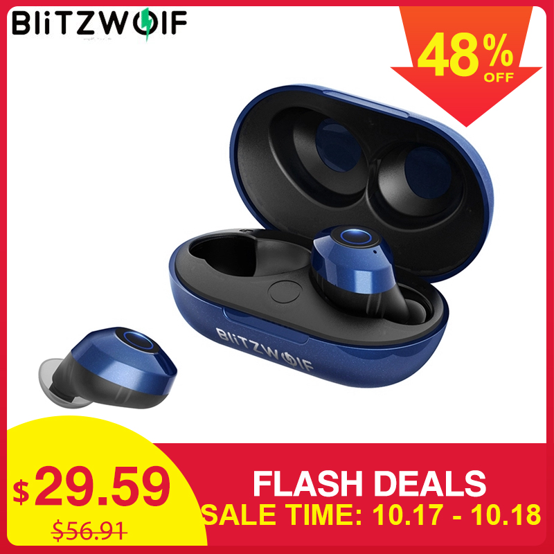 Hot BlitzWolf FYE5 บลูทูธ 5.0 TWS หูฟังไร้สาย True หูฟังกีฬาหูฟัง HIFI ชุดหูฟังสเตอริโอเบส IPX6 กันน้ำ-ใน หูฟังและชุดหูฟังสำหรับโทรศัพท์ จาก อุปกรณ์อิเล็กทรอนิกส์ บน AliExpress - 11.11_สิบเอ็ด สิบเอ็ดวันคนโสด 1