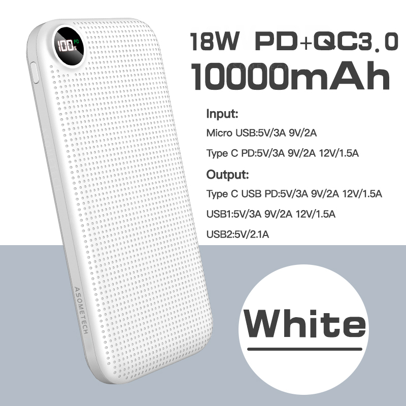 White with 18W