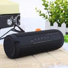 Original T2 Wireless Bluetooth Speaker Waterproof Portable Outdoor Mini Column Box Speaker Support TF card Stereo HiFi Boxes