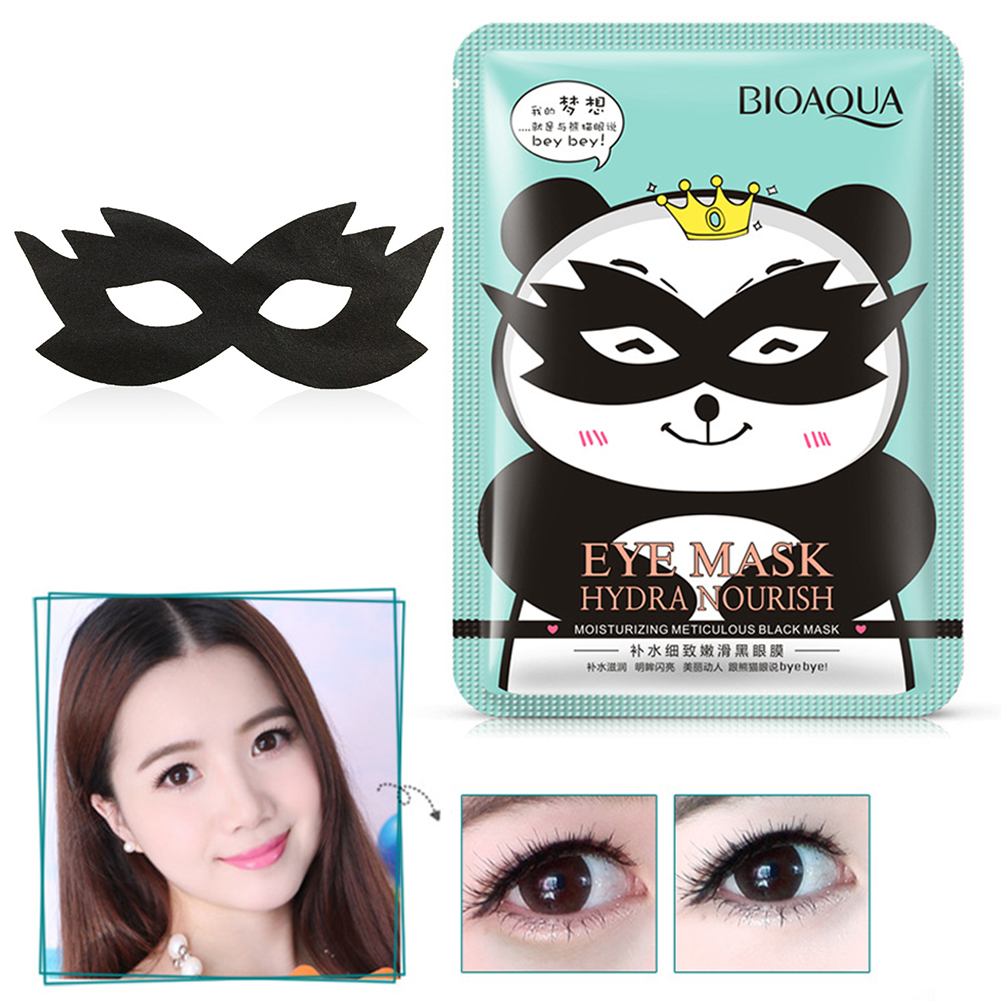 Black Panda Eye Patches Under The Eyes Dark Circle Puffiness Anti-Aging Wrinkle For Eyes Care Moisturize Eye Patches TSLM1