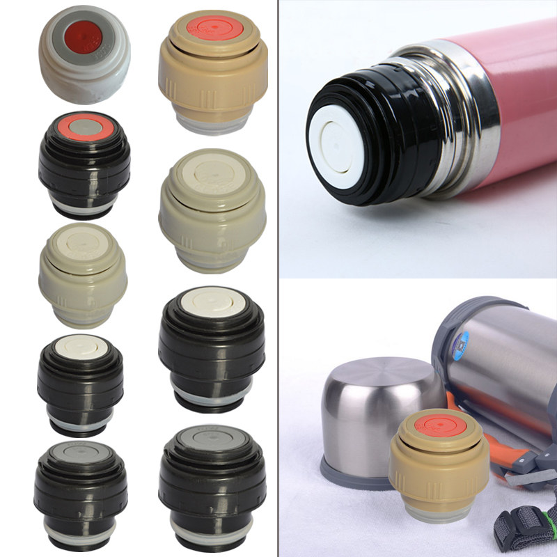 4.5/5.2cm Outdoor Travel Cup Vacuum Flask Lid Drinkware Mug Outlet Flask Cover Stainless Thermoses Accessories