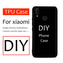 Custom phone case for xiaomi redmi note 7 6 8 pro mi8 mi 9 6x