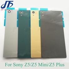 10Pcs Battery Glass Cover Housing replacement For Sony Xperia Z5 Compact Premium mini E6603 E6633 E6683 Z5PluS Rear Housing Door