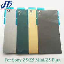 10Pcs Battery Glass Cover Housing replacement For Sony Xperia Z5 Compa