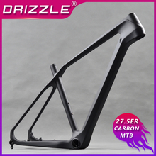 цена на 27.5er/650b carbon mountain bike frame Hard tail bicycle mtb frame Standard 27.5er,compatible hub of wheel 135*9mm and 142*12mm