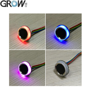 Image 4 - GROW K200 3.3+R502 A Circular Ring Indicator Light Capacitive Fingerprint Access Control Board