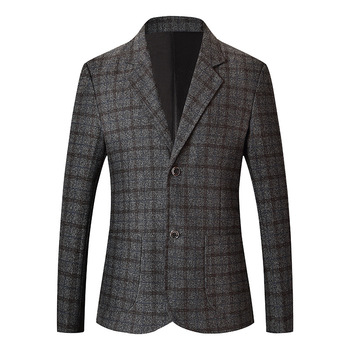 Men Leisure Suit Coat Qing Middle Age Suit Seasonal Thin Section 2019 Dad Pack Autumn Top