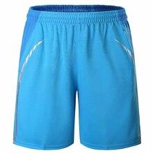 Мужские спортивные шорты, повседневные шорты, быстросохнущие шорты для тенниса, одежда для бадминтона, настольного тенниса, комплект для бе...