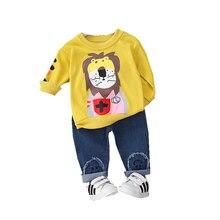 Весенне осенняя хлопковая детская одежда для маленьких мальчиков;